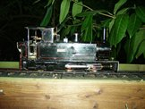 Image of a 16mm scale locomotive