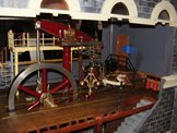 Image of the pumping engine on the Wags Wharf layout