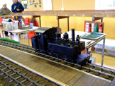 Image of a 16mm scale steam Locomotive