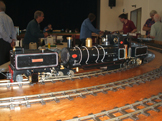 Image of a 16mm steam locomotive