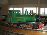 Image of a 16mm locomotive