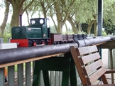 Image of Papplewick Green at Summerfields Miniature Railway Small Loco Rally